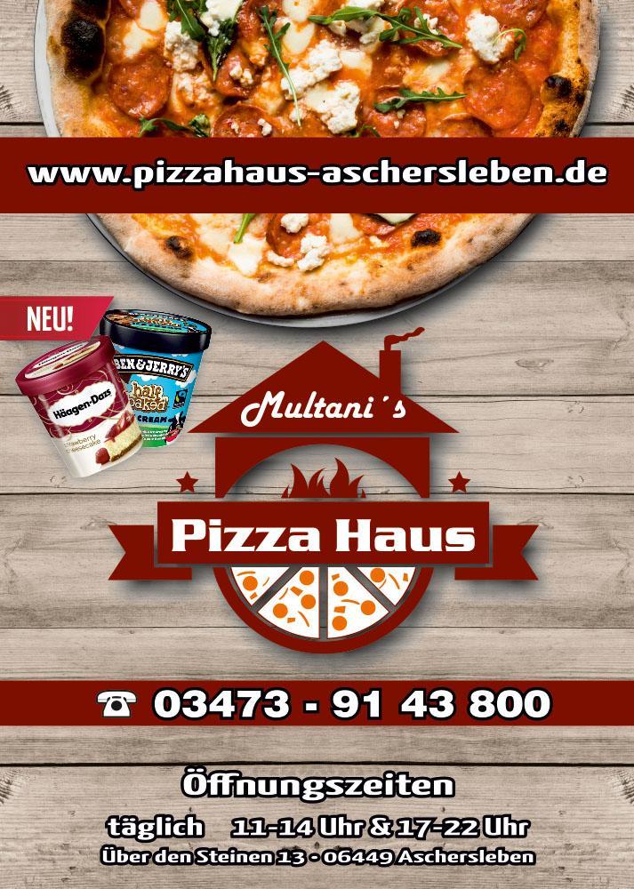 Pizza Haus Aschersleben 03473 91 43 800 Unser Angebot